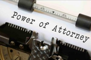 Power of Attorney grass valley